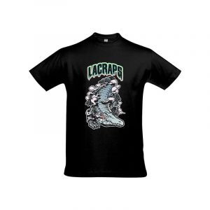 tee-shirt-Lacraps-big-croco-tee-noir-shoptonhiphop